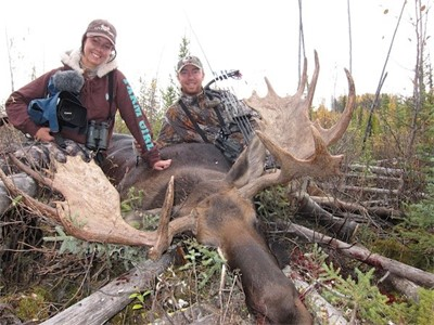 September 21st 2011, MY FIRST ARCHERY MOOSE