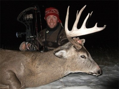 December 7th 2011, CODY'S BOWTECH WHITETAIL